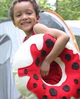 Kid Donut Pillow