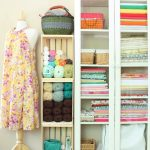 Crafted Spaces Fabric and Yarn Storage