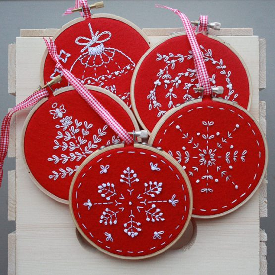 Holiday Hand Embroidery