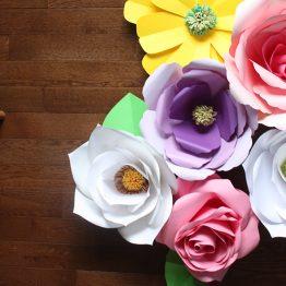 Paper Flowers Class