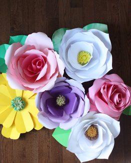 Paper Flowers Workshop