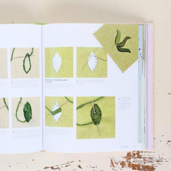 Inside Handsewn Book