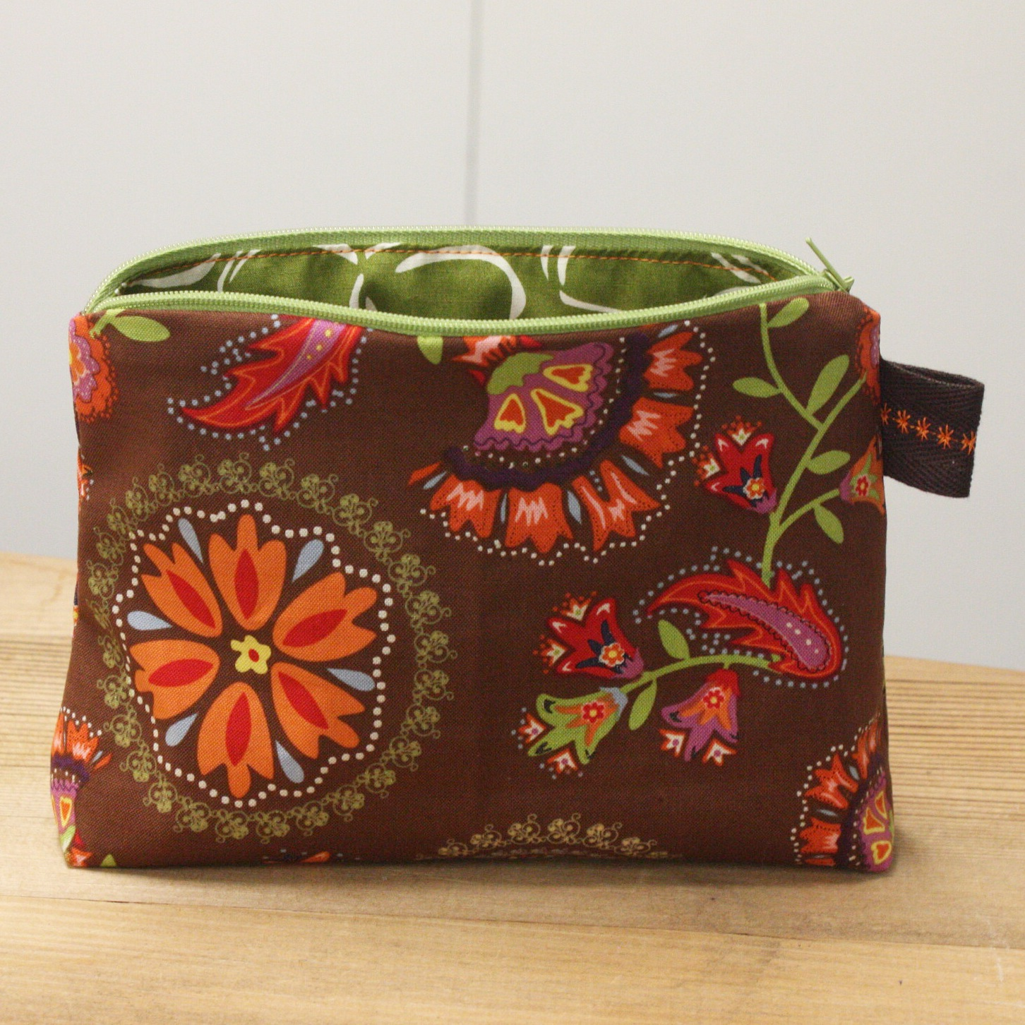 8fa744d8ef19 Zippered Pouch - Crafted Spaces - Barrie