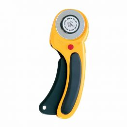Yellow and Black Olfa Rotary Cutter