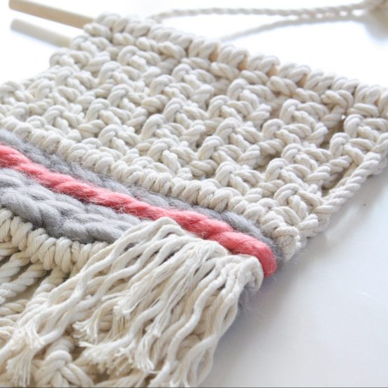 Mini Macramé Wall Hanging