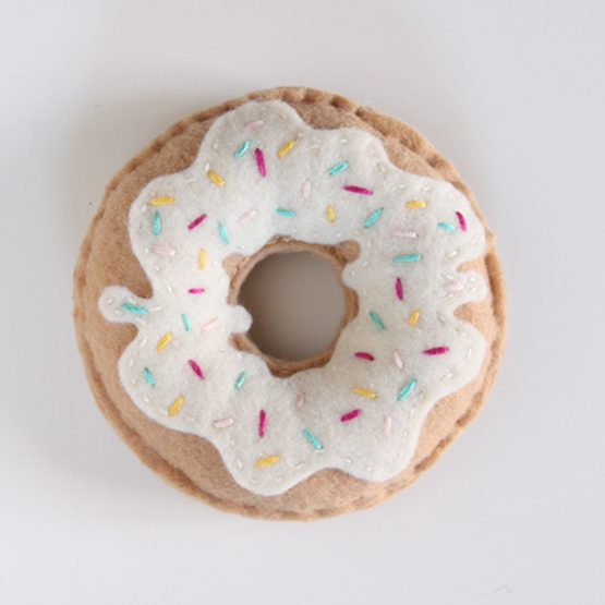 Hand Stitched Donut