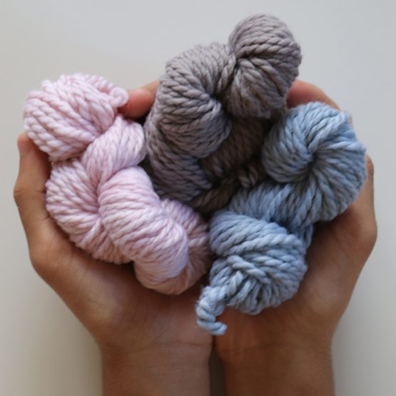 Natural Dyed Wool Yarn