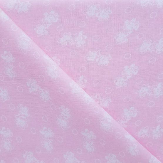 Craft Cotton Pink Floral