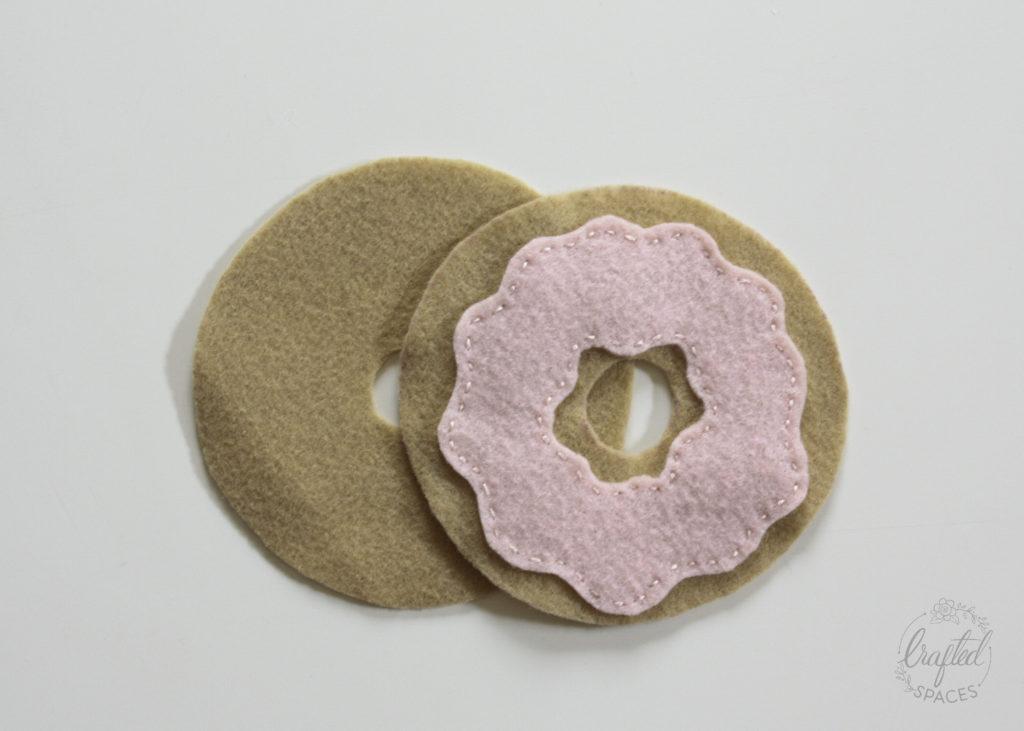 Felt Donut Parts