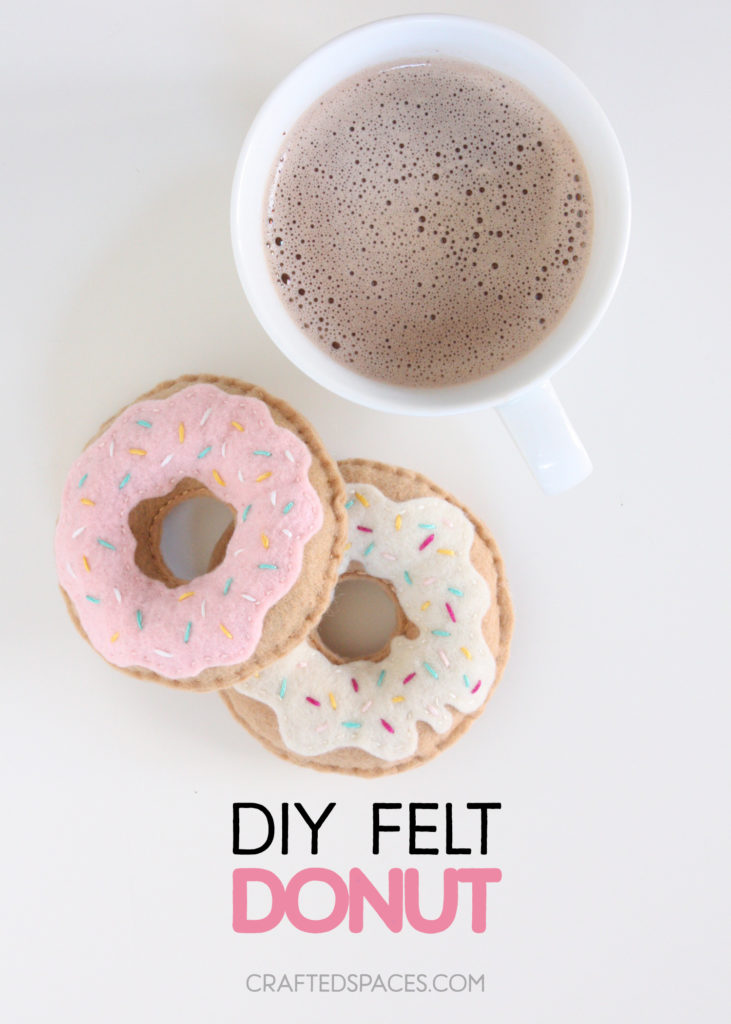 DIY Felt Donut Tutorial