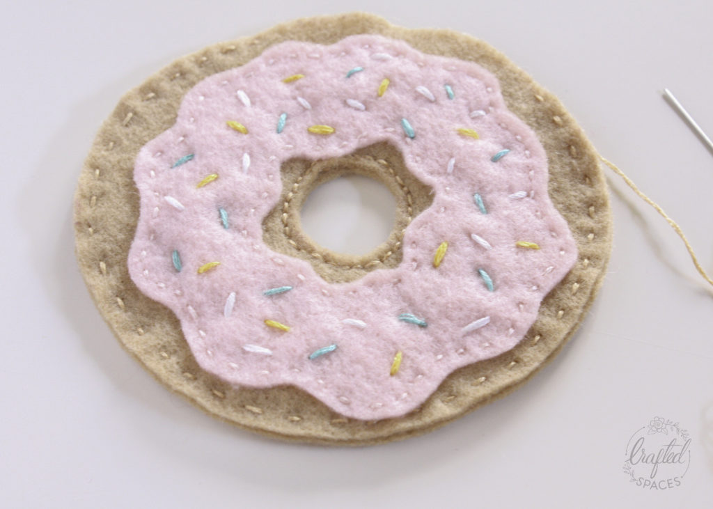 Felt Donut Stitching